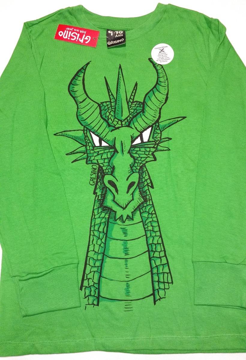 grisino camisetas remeras manga larga varios motivos talles. Cargando zoom. b986a62148f75