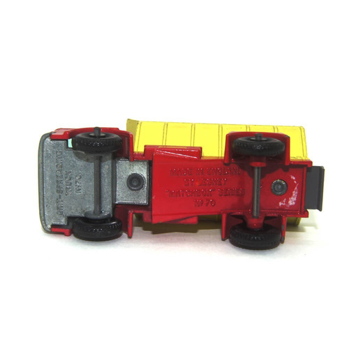 grit spreader nº50 1/64 matchbox anos 70