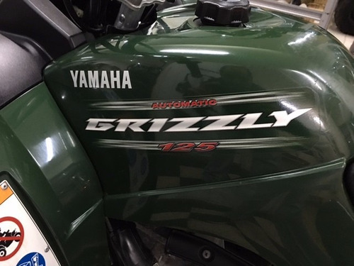 grizzly 125 cuatriciclo yamaha