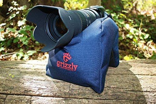 grizzly cámara bean bolso largeblue fotografía bean bolso vi