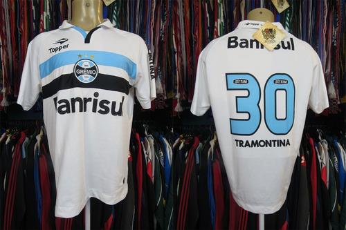 grêmio 2012 camisa reserva tamanho g número 30.