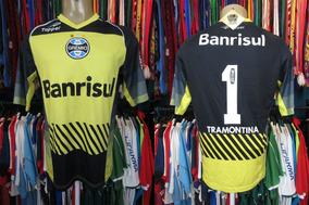 1f284a5ba Camisa Retro Goleiro Leao Gremio - Camisas de Futebol no Mercado Livre  Brasil
