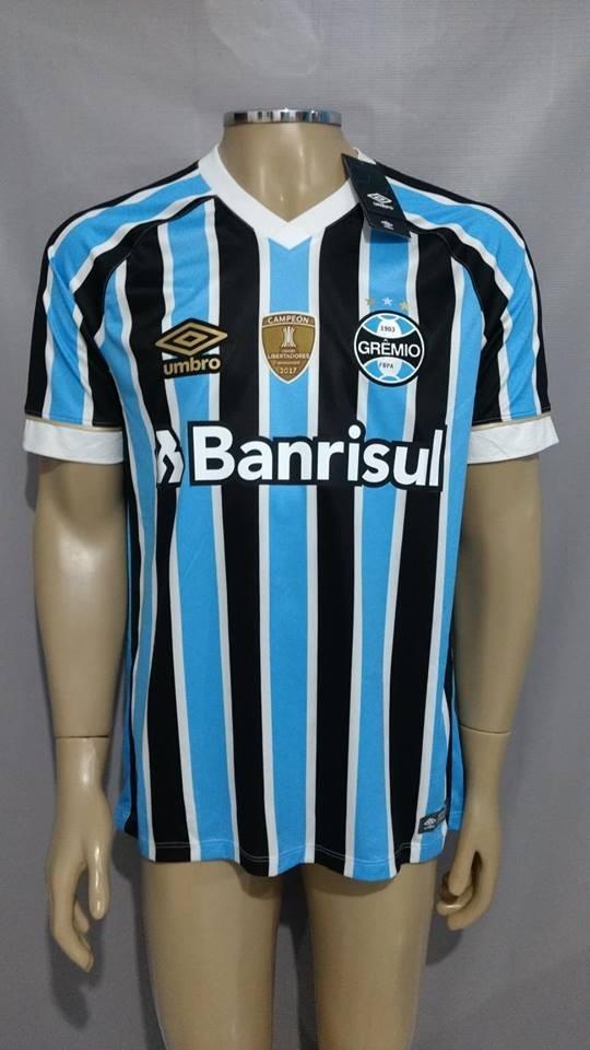 e84b509d73877 Grêmio 2018 Tricolor Game S n Pacht Campeão - Pronta Entrega - R ...