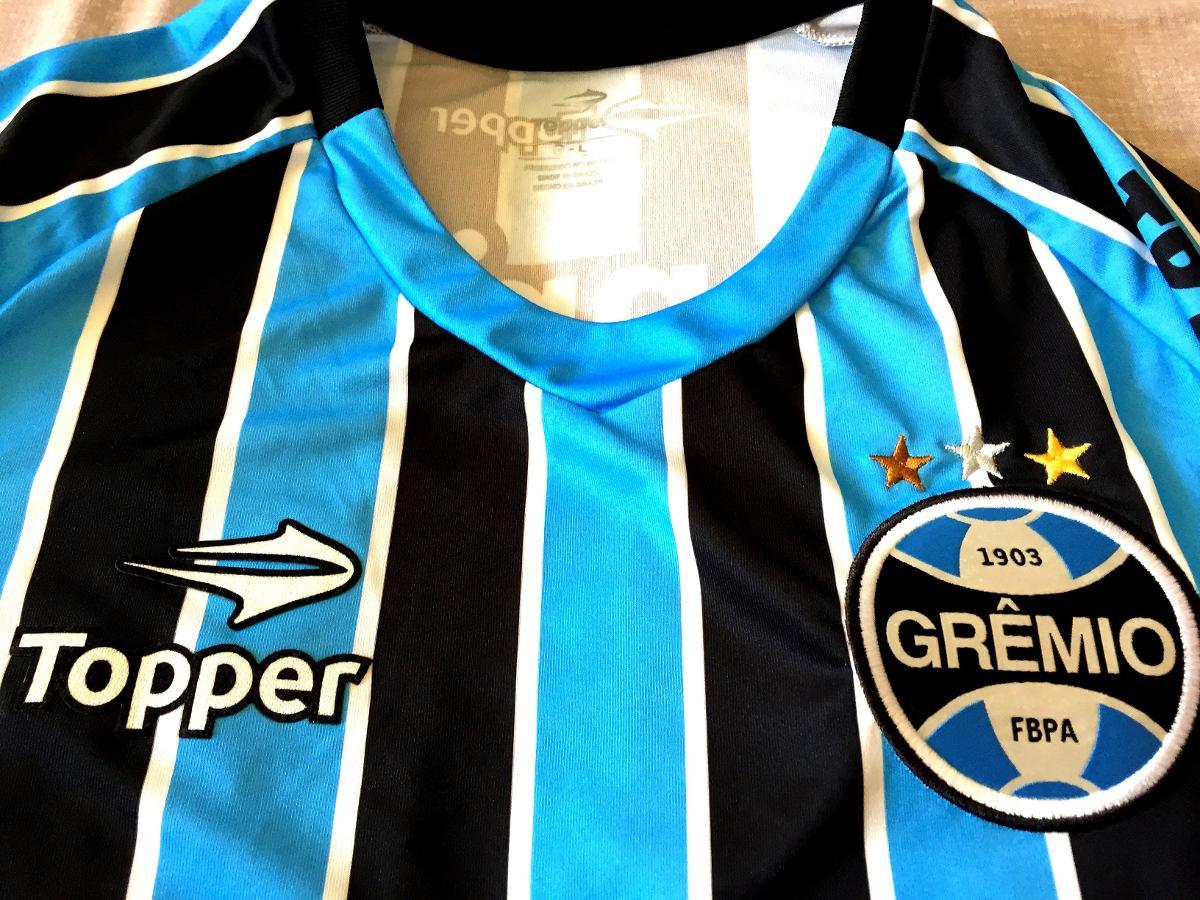 Carregando zoom... camisa grêmio usada em jogo brasileirão 2013 75d143db4d221