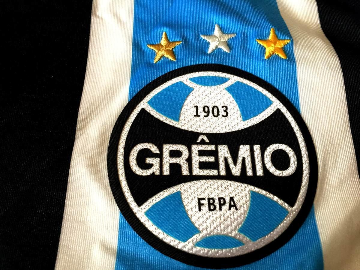 dac6622146ef1 Carregando zoom... camisa grêmio brasileirão 2015 de jogo uniforme 1