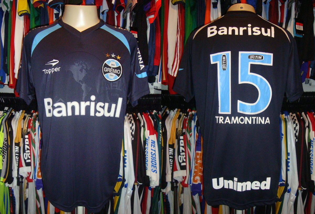grêmio - camisa 2011 reserva 4º uniforme de jogo   15. Carregando zoom. bf5231ee72966