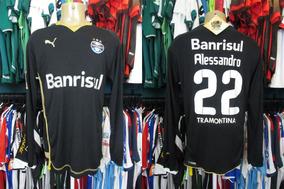 be76db3d8 Camisa Goleiro Gremio Retro - Futebol no Mercado Livre Brasil