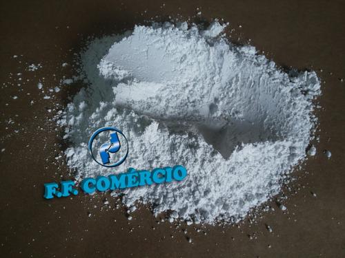 grão / pó de quartzo - malha 600 - dióxido de silício branco