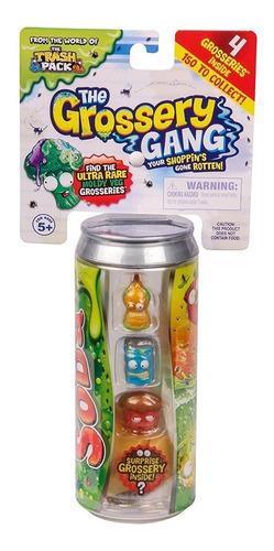 grocery gang temporada 2 trash pack set x 4