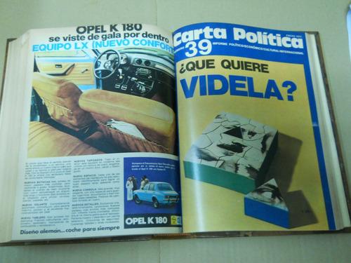 grondona - carta politica. informe político - económico -...