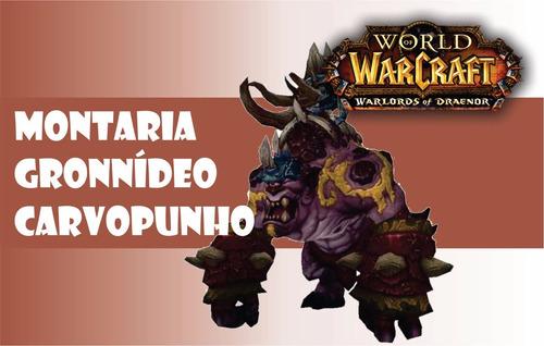 gronnídeo carvopunho/coalfist gronnling -wow-nemesis-aliança