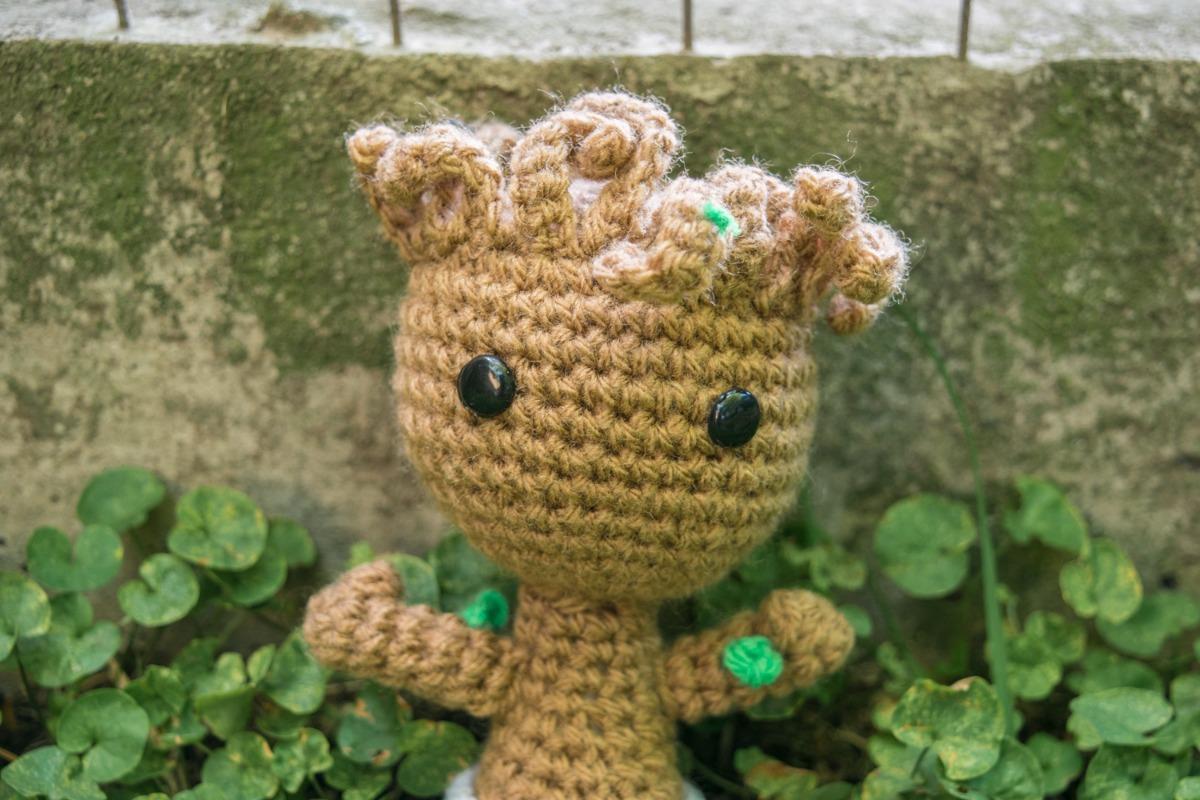 Crochet pattern of Groot   Crochet teddy bear pattern, Crochet ...   800x1200
