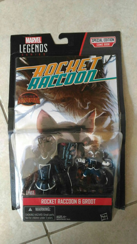 groot rocket raccoon marvel legends 3.75 universe 2-pack