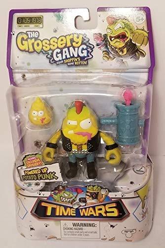 grossery gang la figura de acción de time wars - potato punk