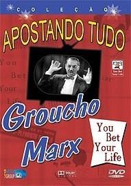 grouxo marx - you bet your life - de 1960-1963 -frete grátis