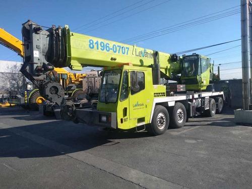 grove tms700e grua hidraulica sobre camion