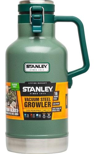 growler stanley 2 litros original termos verde cerveza