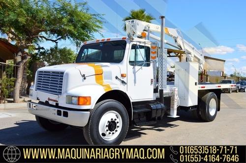 grua articulada 3.5 tons camion international 1990