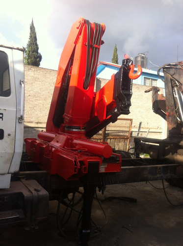 grua articulada marca fassi f280 cap 13 ton 2 extenciones hi