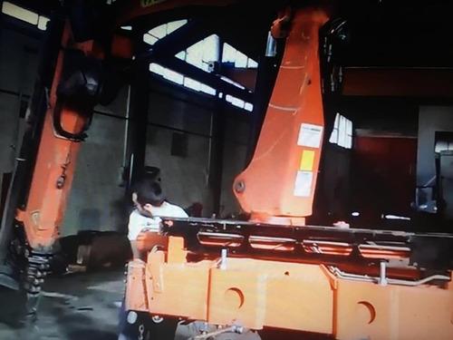 grúa articulada palfinger 8 toneladas