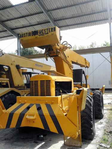 grua austin western 4x4 8 ton