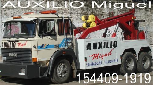 grua auxilio miguel remolque pesados livianos camiones