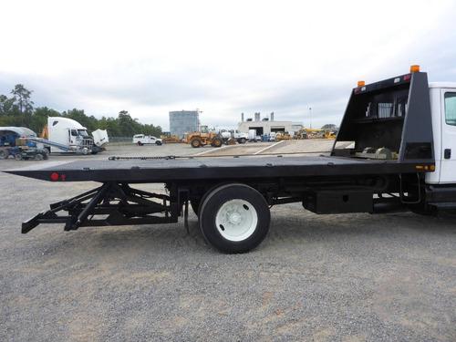 grua camion rollback plataforma deslizable freightliner fl60