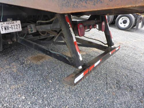 grua camion rollback plataforma deslizable international