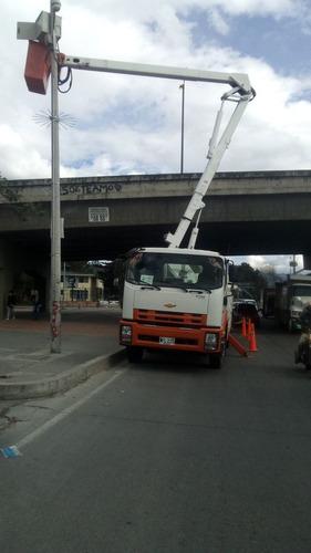 grua canasta y camion grua en alquiler