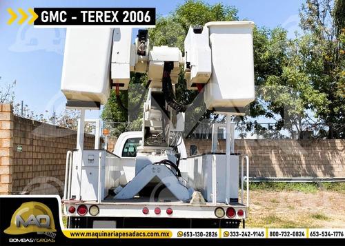 grua canastilla gmc - terex telelect 2006