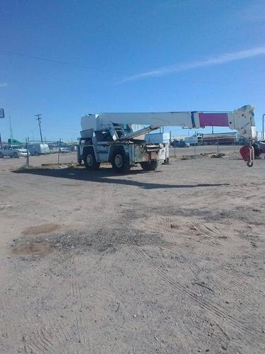grua  case drott 1800cc  18 toneladas todo terreno  4x4