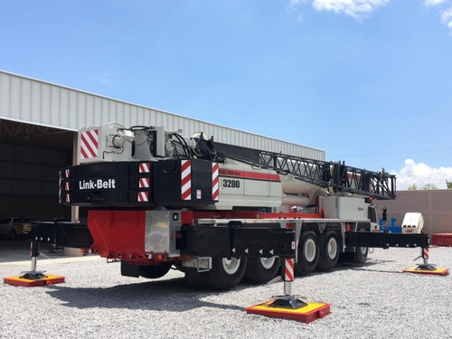 grua certificada link-belt atc-3200 de 200 us ton toneladas
