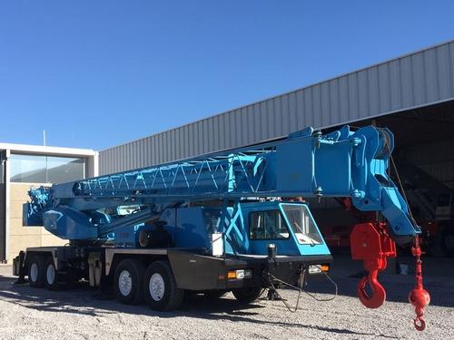 grua certificada terex t-750 de 75 ton toneladas