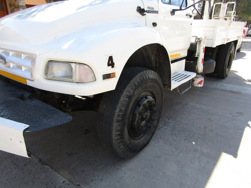 grua con camion  hidrogrua f14000 hidrogrubert con malacate