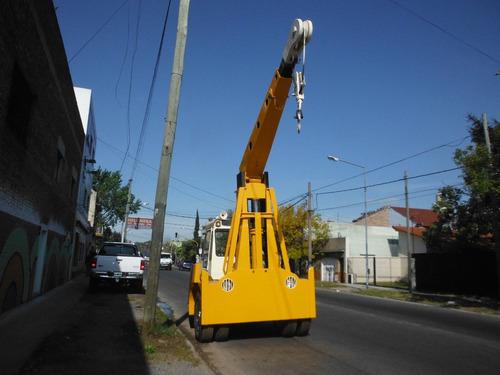 grua crane mobile 8 t. y topador allis chalmers  hd11ep nuev