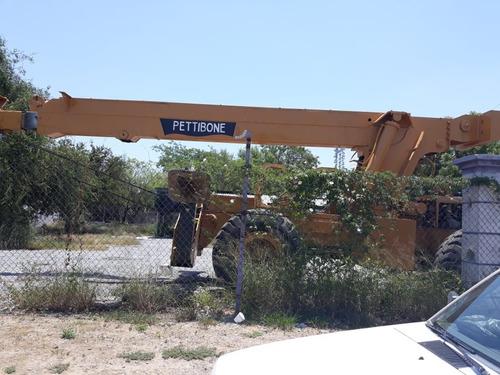 grua de 20 toneladas recon ,  con motor 4-53 detroit diesel