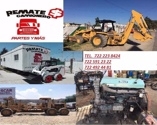 grua de arrastre 10,000 kgs camion equipo funcionando