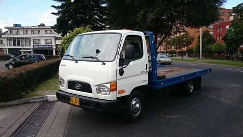 grua de planchón hyundai motor 3907 cc blanco