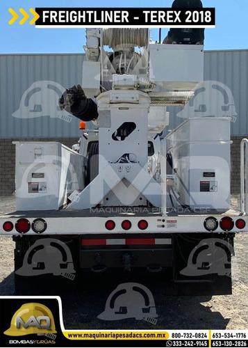 grua electrica freightliner - terex digger 2018