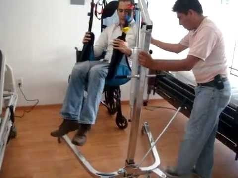grúa elevador pacientes,discapacitados, enfermos reactiv