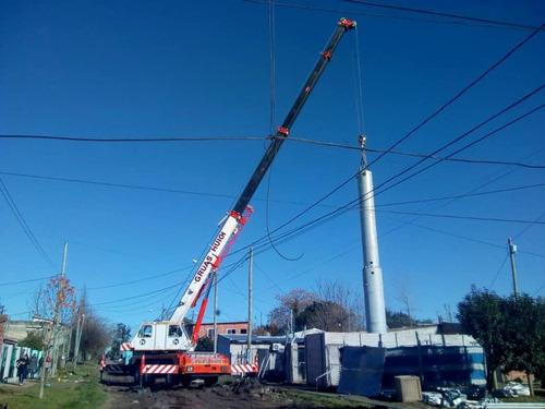 grúa gottwald 45 ton certificacion vigente .