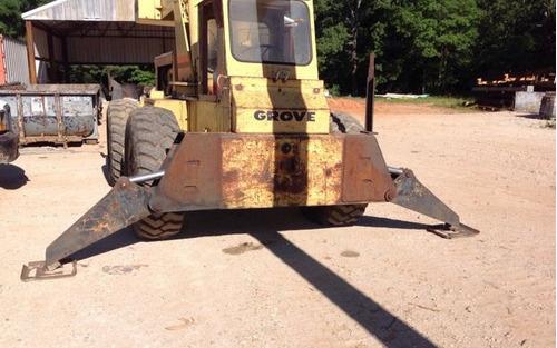 grua grove modelo rt58 pato 18 ton importada p&h