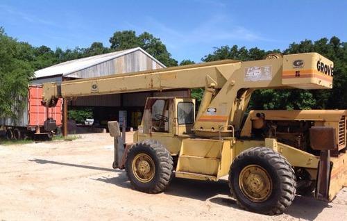 grua grove modelo rt58 pato 18 ton importada p&h funcionando
