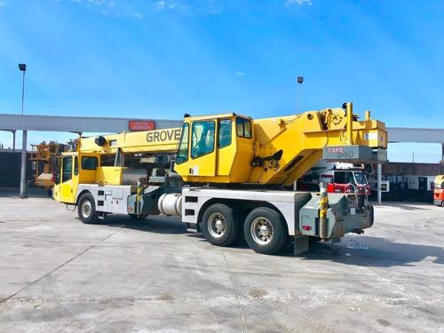 grua grove tms540 sobre camion mod. 2000 para 40 toneladas