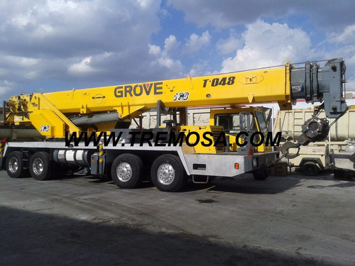 grúa grove tms700 60 tns 2006 remate  tremosa  #2093