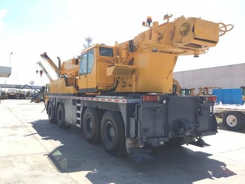grua hidraulica liebherr ltm1080 2001 para 80 toneladas