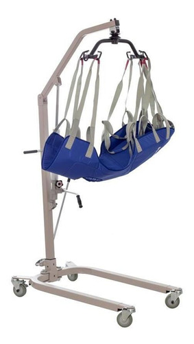 grúa hidraulica para transporte de pacientes 180 kg - reacti