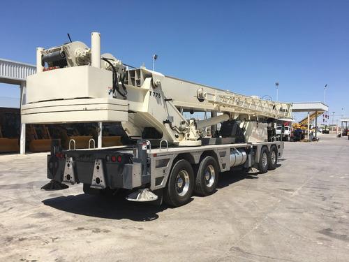 grua hidraulica terex t775 de 75 toneladas 2005