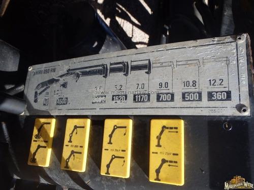 grua hidraulica tipo hiab camion servicio folio 9354