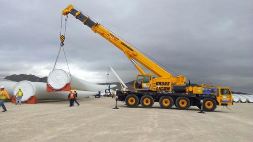 grúa hidráulica todo terreno 90 toneladas
